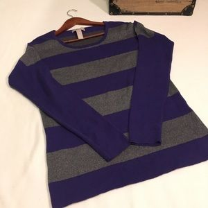 Banana Republic Striped Long Sleeve Sweater